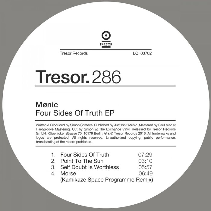 MONIC - Four Sides Of Truth EP