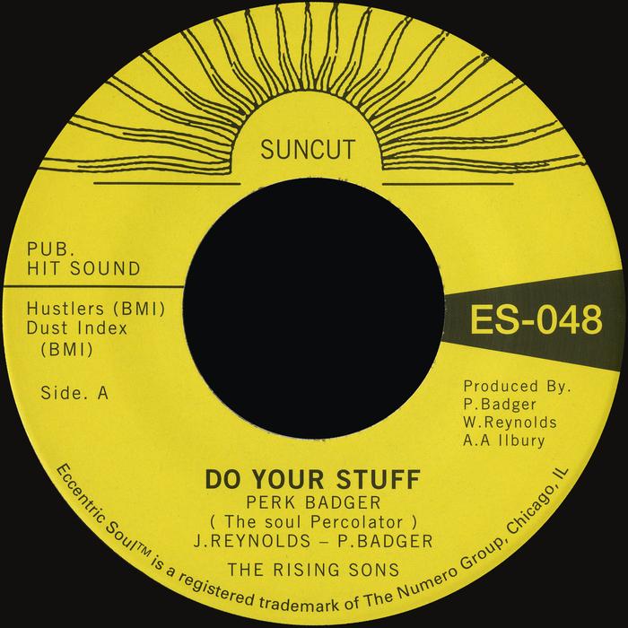 PERK BADGER - Do Your Stuff Pt 1/Do Your Stuff Pt 2