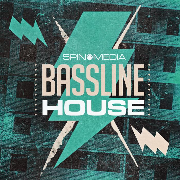 5PIN MEDIA - Bassline House (Sample Pack WAV/APPLE/MIDI)