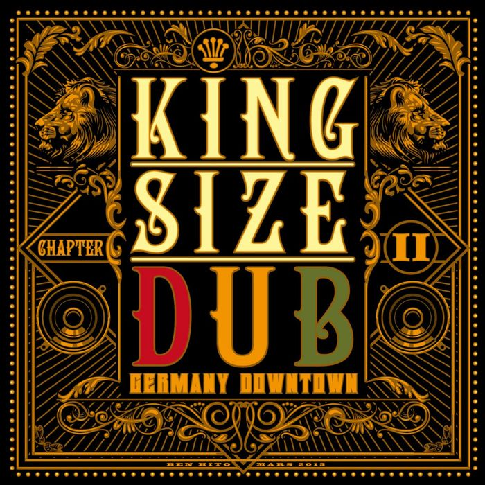 VARIOUS - King Size Dub - Reggae Germany Downtown Vol 2