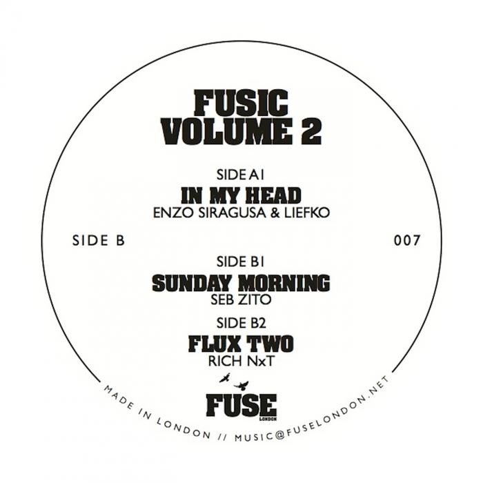 LIEFKO & ENZO SIRAGUSA/SEB ZITO/RICH NXT - Fusic Vol 2