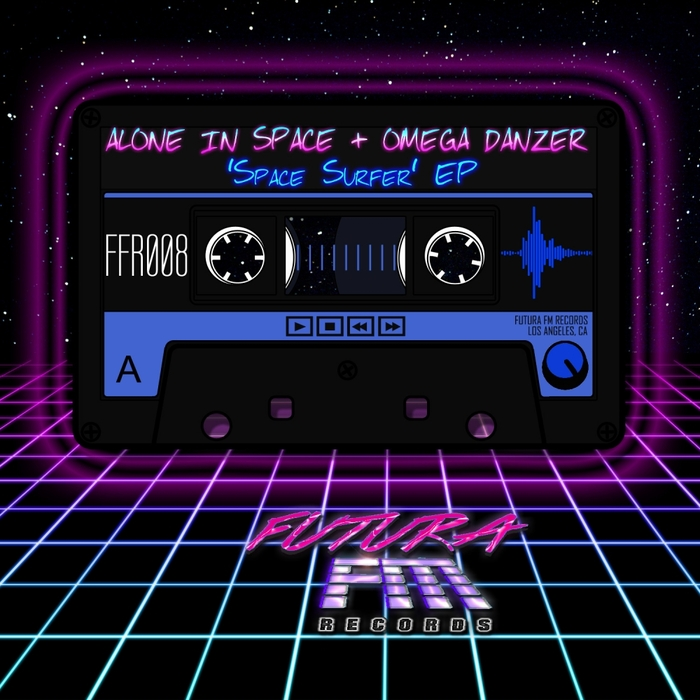 ALONE IN SPACE & OMEGA DANZER - Space Surfer EP