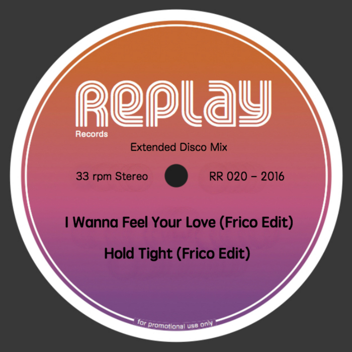 FRICO - I Wanna Feel Your Love/Hold Tight (Frico Edit 2016)