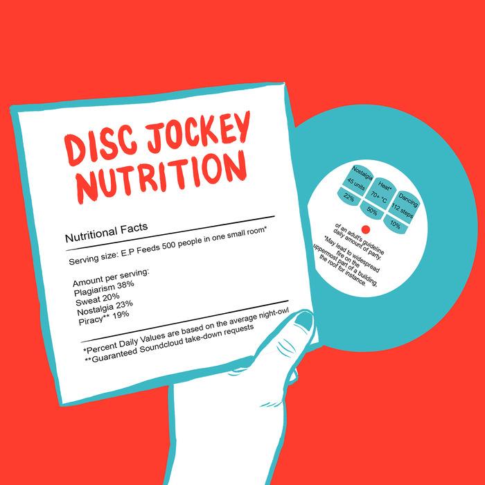 DISC JOCKEY NUTRITION - Disc Jockey Nutrition EP 2