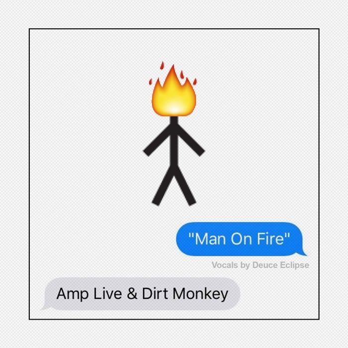 AMP LIVE/DIRT MONKEY - Man On Fire