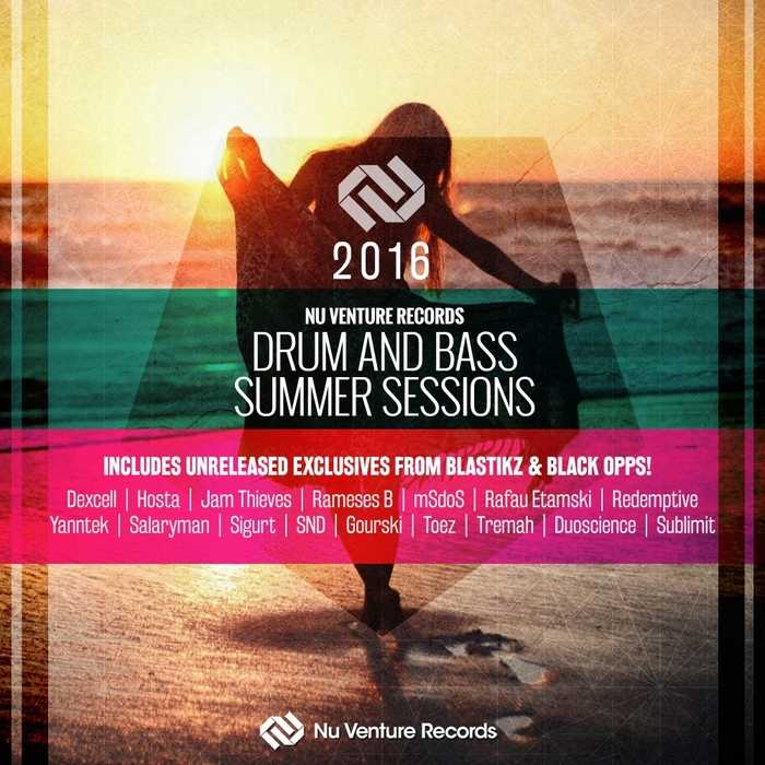 VARIOUS - Nu Venture Records/Drum & Bass Summer Sessions 2016