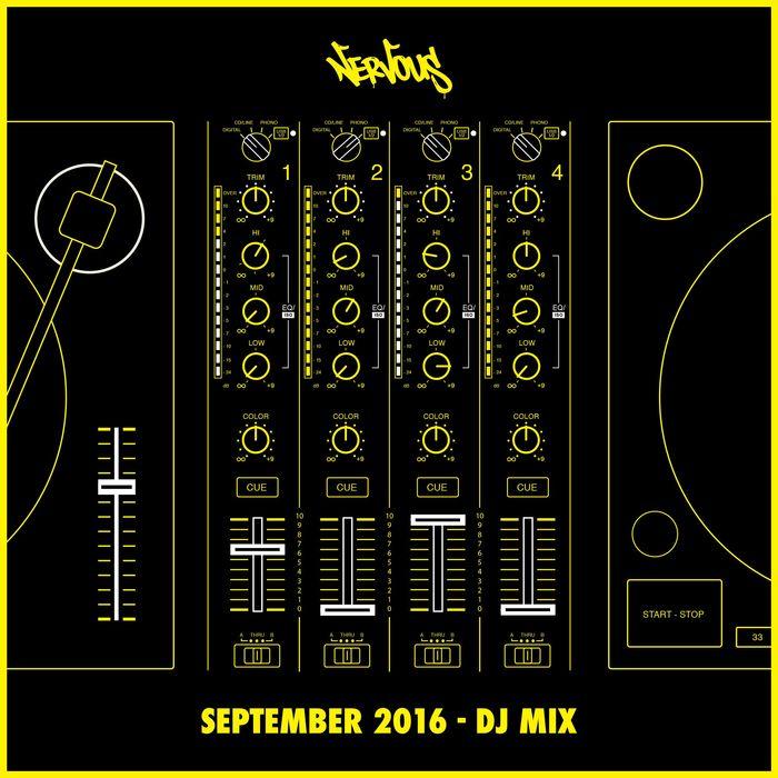 VARIOUS - Nervous September 2016 - DJ Mix