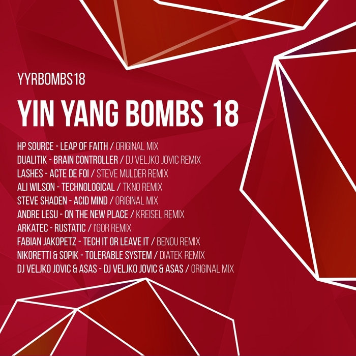 VARIOUS - Yin Yang Bombs (Compilation 18)