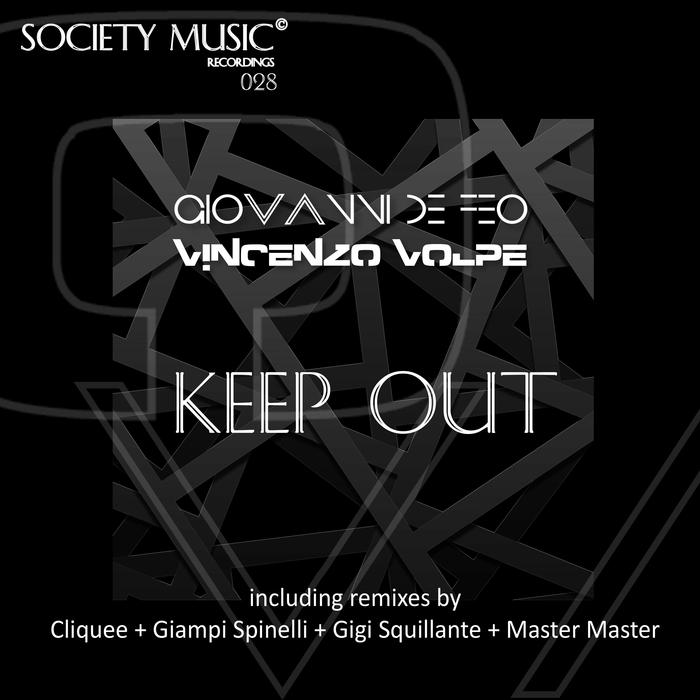 GIOVANNI DE FEO/VINCENZO VOLPE - Keep Out
