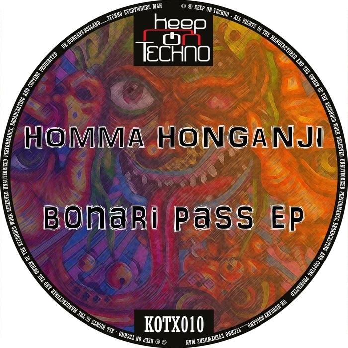 HOMMA HONGANJI - Bonari Pass EP