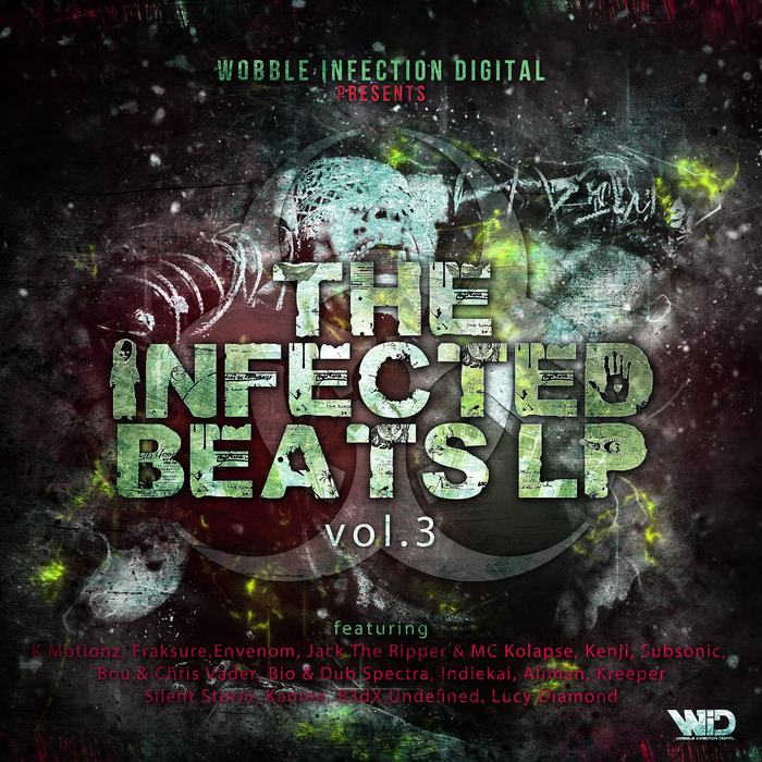 VARIOUS - The Infected Beats LP Vol 03
