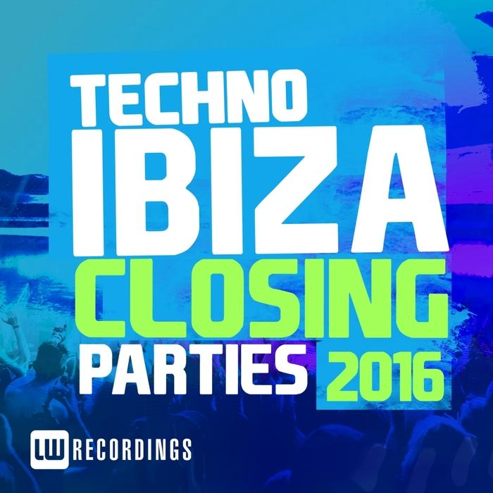 VARIOUS - Ibiza Closing Parties 2016 (Techno)