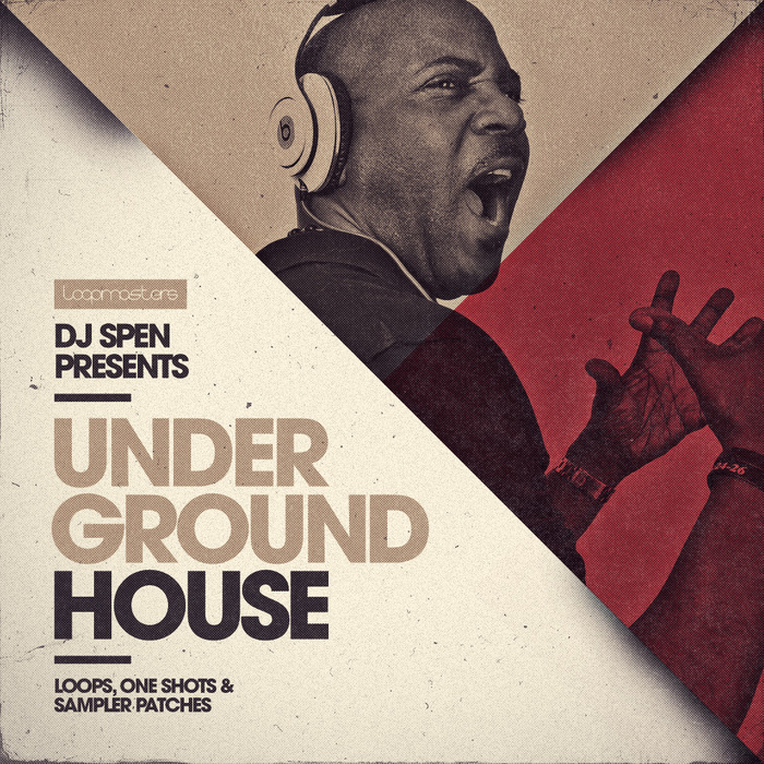 DJ SPEN - Underground House (Sample Pack WAV/APPLE/LIVE/REASON)