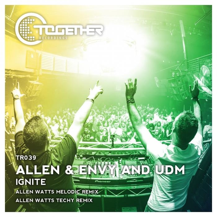 STEVE ALLEN & ENVY/UDM - Ignite