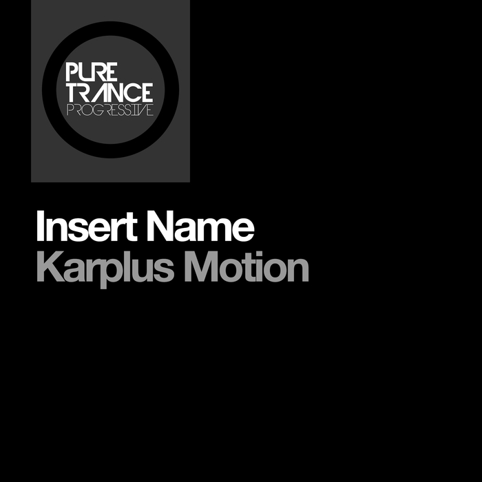 INSERT NAME - Karplus Motion