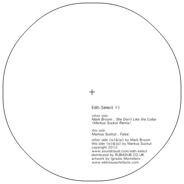 MARK BROOM & MARKUS SUCKUT - She Don't Like The Collar/False