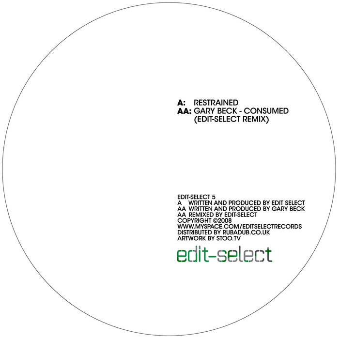 EDIT SELECT & GARY BECK - Restrained/Consumed Remix