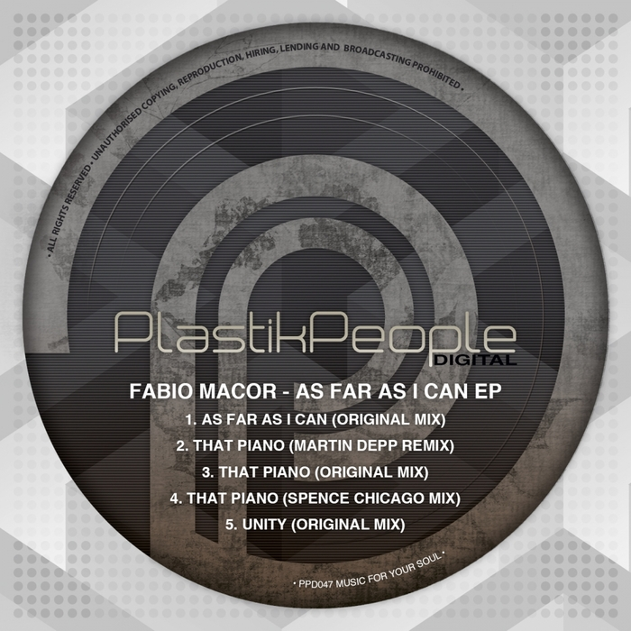 FABIO MACOR - As Far As I Can EP