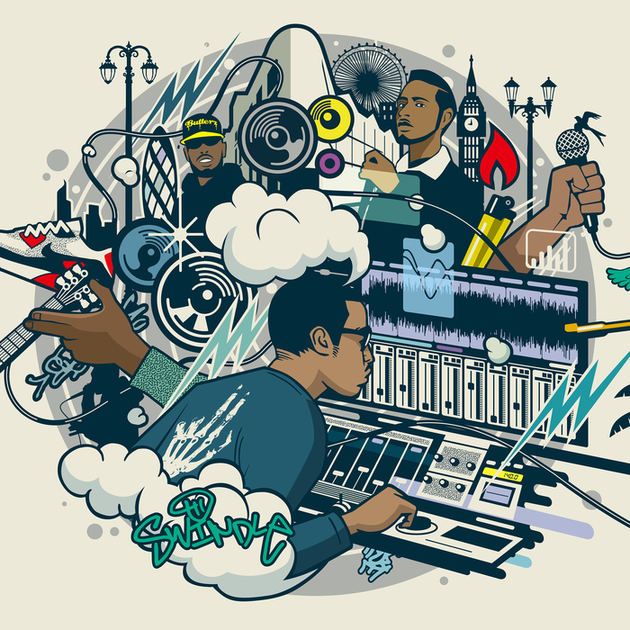 SWINDLE - Funk And Grime - EP