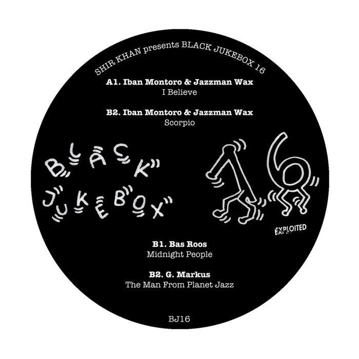 IBAN MONTORO/JAZZMAN WAX/BAS ROOS/G MARKUS - Shir Khan Presents Black Jukebox 16