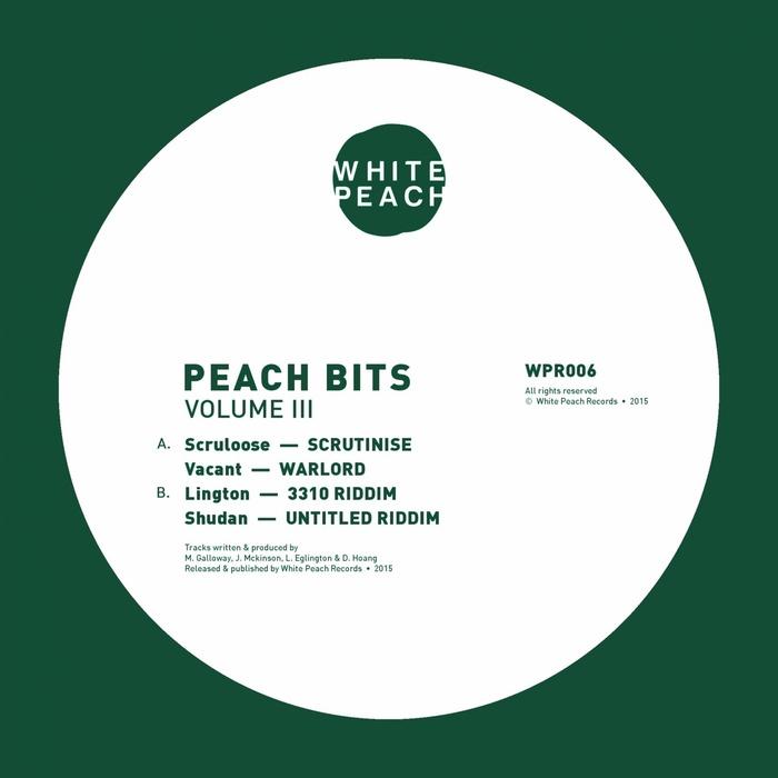 SCRULOOSE/VACANT/LINGTON/SHUDAN - Peach Bits Vol 3