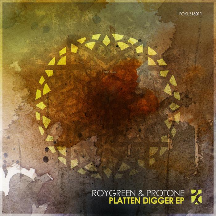 ROYGREEN/PROTONE - Platten Digger EP
