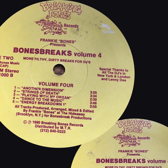 FRANKIE BONES - Bonesbreaks Vol 4