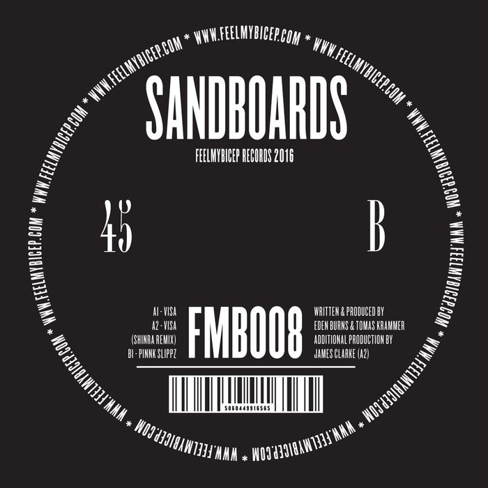 SANDBOARDS - Visa EP