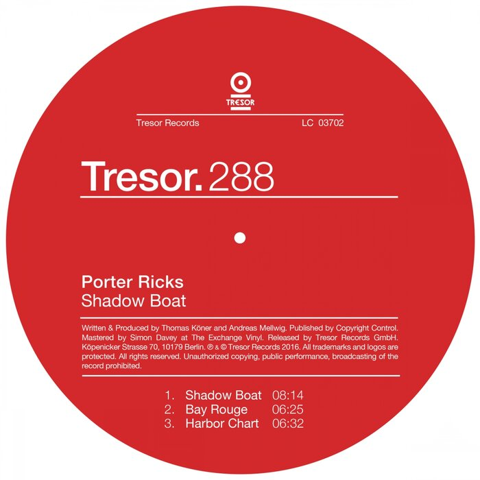PORTER RICKS - Shadow Boat