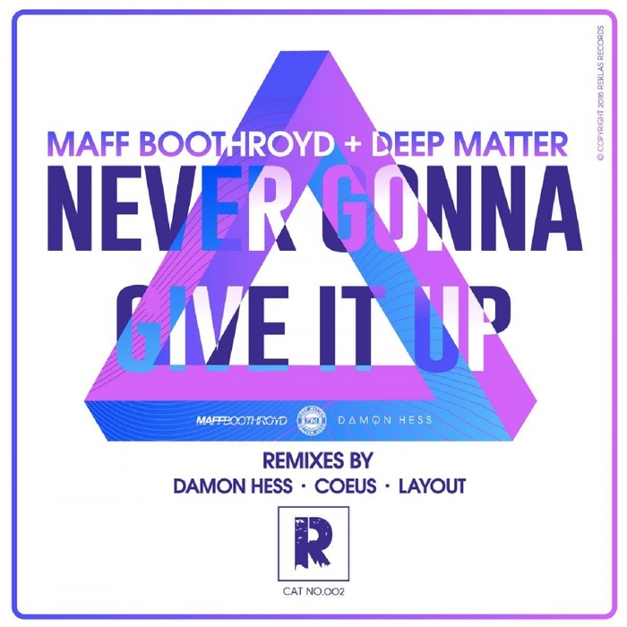 MAFF BOOTHROYD & DEEP MATTER - Never Gonna Give It Up