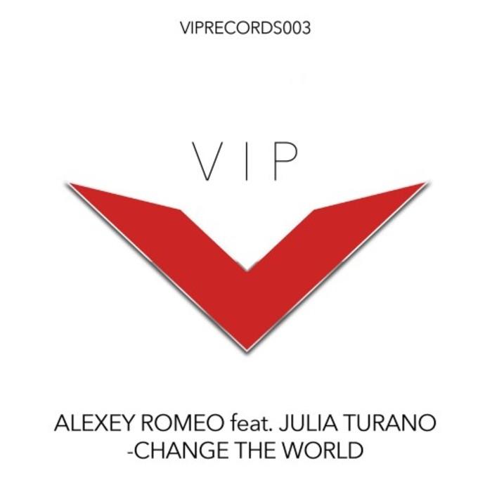 ALEXEY ROMEO feat JULIA TURANO - Change The World