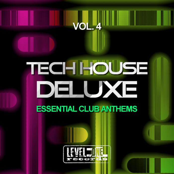 VARIOUS - Tech House Deluxe Vol 4 (Essential Club Anthems)