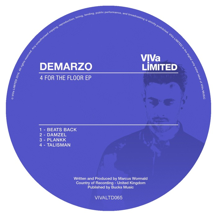 DEMARZO - 4 For The Floor EP