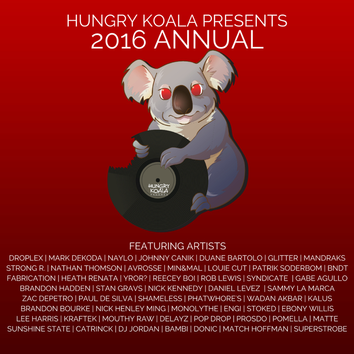 VARIOUS/HUNGRY KOALA - Presents/2016 Annual