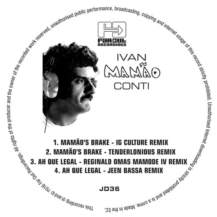 IVAN CONTI - Mamaoo's Brake (Ig Culture & 22a Remixes)