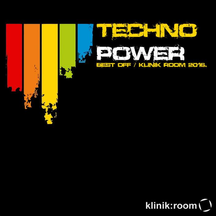 VARIOUS - Techno Power: Best Of Klinik Room 2016