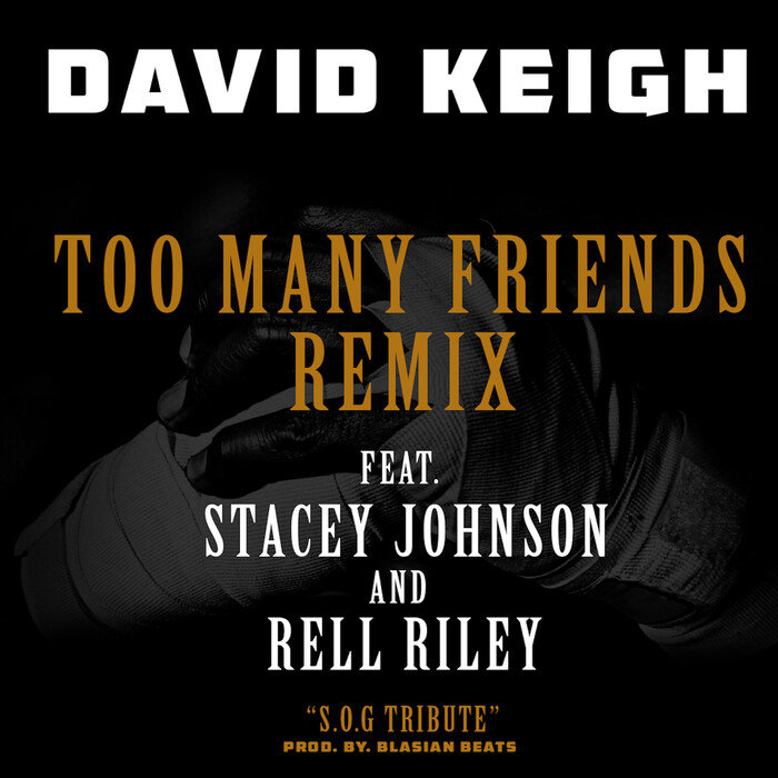 DAVID KEIGH feat RELL RILEY - Too Many Friends