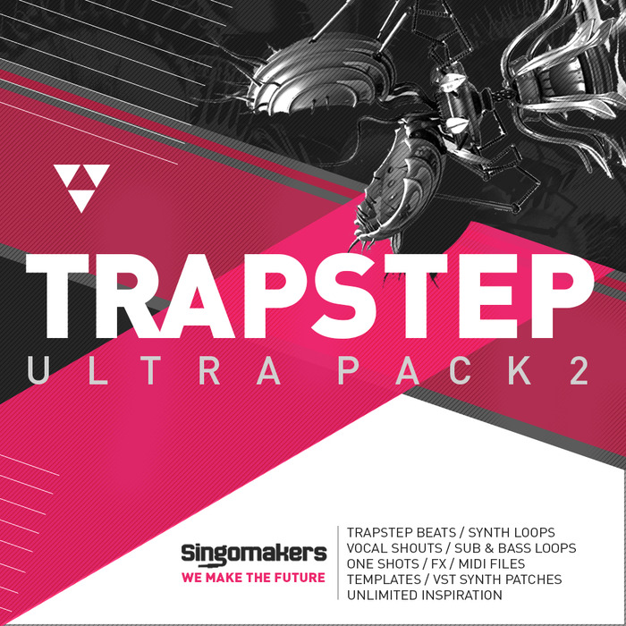 SINGOMAKERS - Trapstep Ultra Pack 2 (Sample Pack WAV/APPLE/LIVE/REASON)