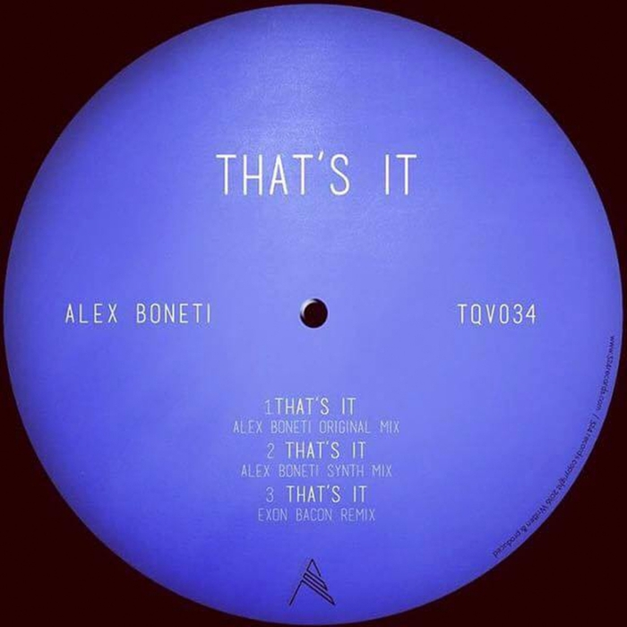 ALEX BONETI - That's It