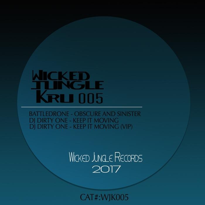 BATTLEDRONE & DJ DIRTY ONE - Wicked Jungle Kru 5