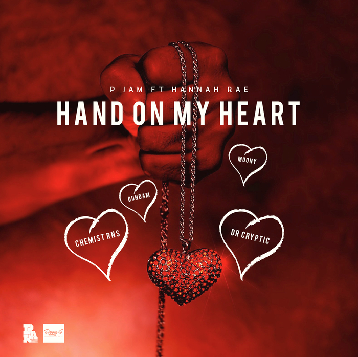 P JAM feat HANNAH RAE - Hand On My Heart