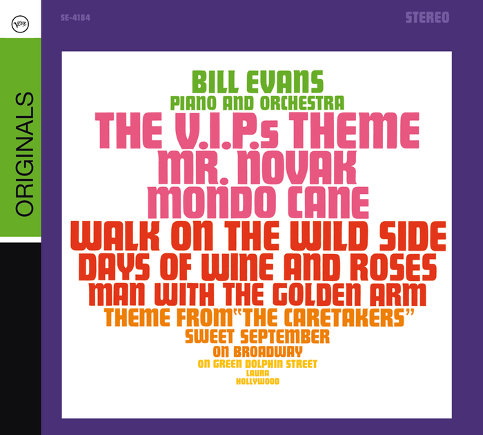 BILL EVANS - Plays The Theme From