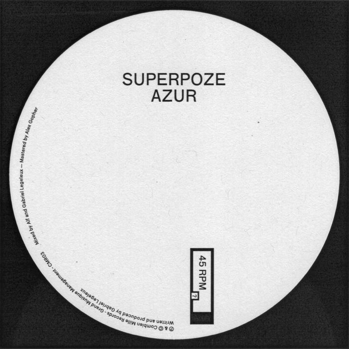 SUPERPOZE - Azur
