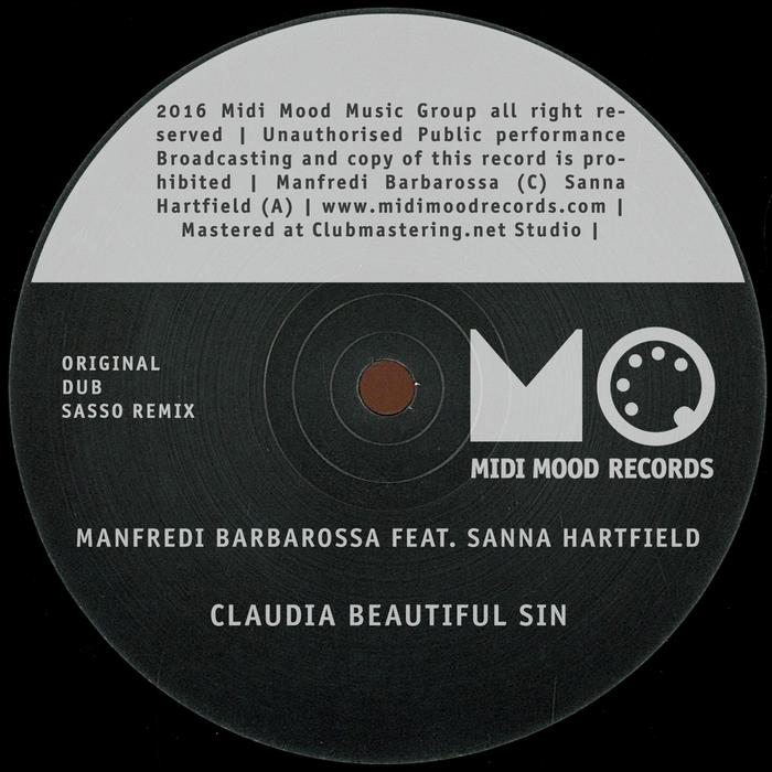 MANFREDI BARBAROSSA feat SANNA HARTFIELD - Claudia Beautiful Sin