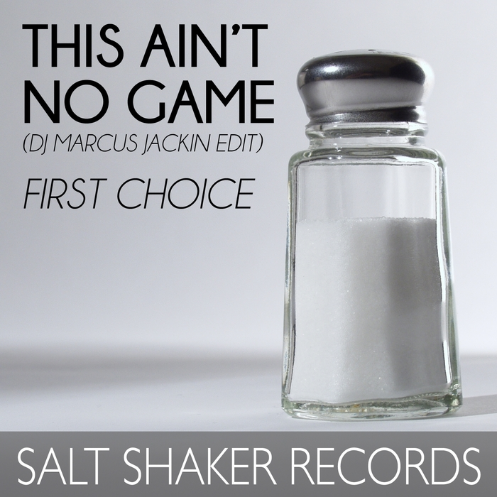 DJ MARCUS WADE feat FIRST CHOICE - This Ain't No Game