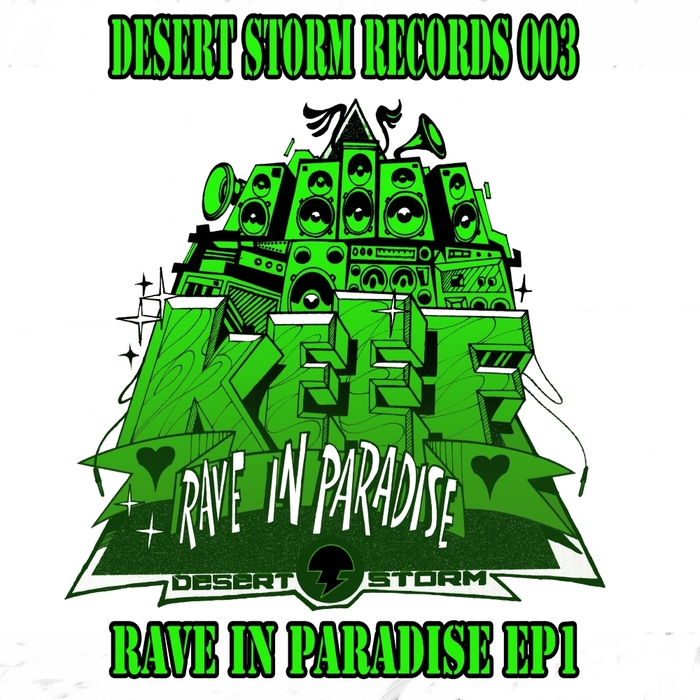 KEEF STORM - Rave In Paradise EP1