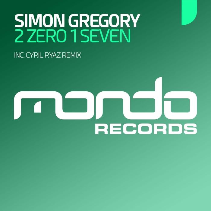 SIMON GREGORY - 2 Zero 1 Seven