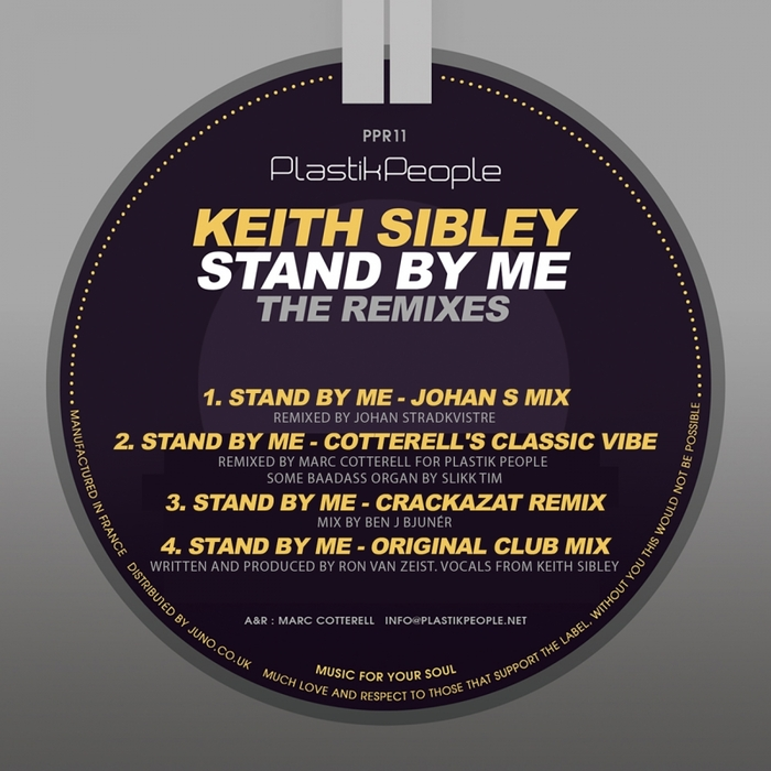 KEITH SIBLEY - Stand By Me