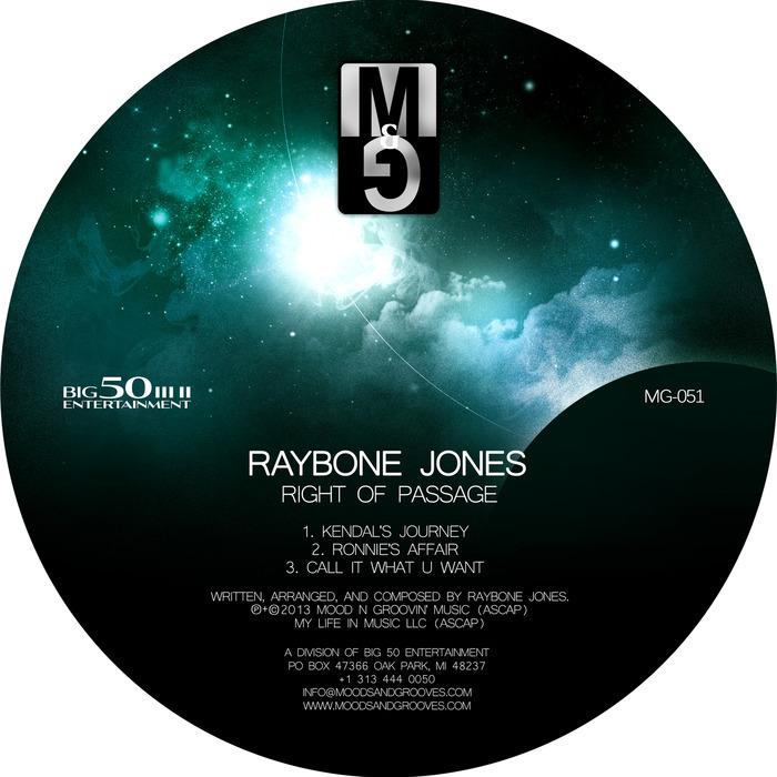 RAYBONE JONES - Right Of Passage