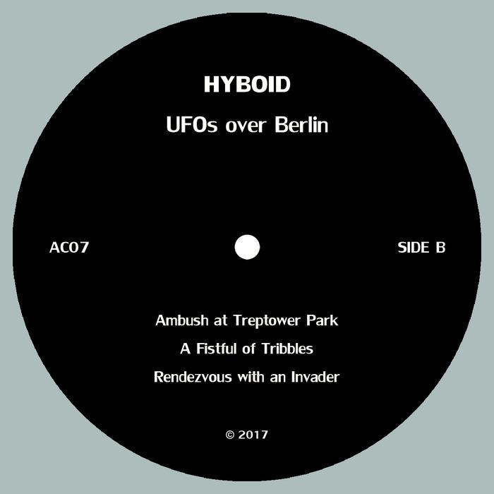 HYBOID - UFOs Over Berlin